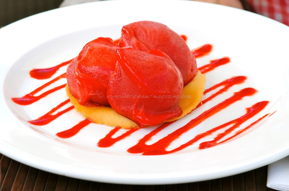 Blood Orange and Campari Sorbet | ice cream magazine