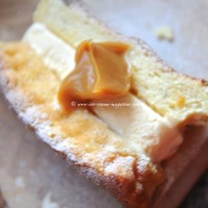 Ricotta vanilla sponge  © www.ice-cream-magazine.com