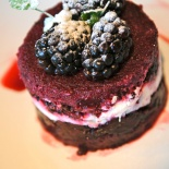 Blackberry summer puds