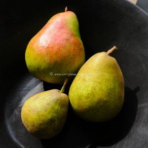 3 pears © www.ice-cream-magazine.com