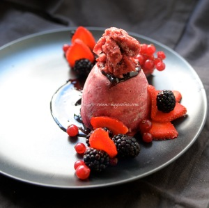 Summer winter pudding  © www.ice-cream-magazine.com