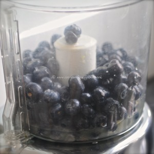 blueberry, lime & vodka sorbet