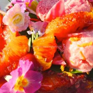 Blood orange coconut fro-yo © www.ice-cream-magazine.com