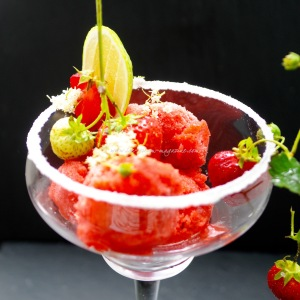 strawberry daquiri sorbet © www.ice-cream-magazine.com