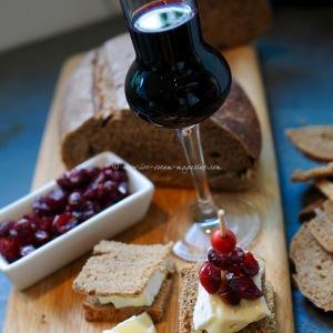 cranberries in syrup © www.ice-cream-magazine.com