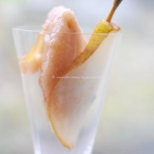 Peerless Pear, ginger bergamot sorbet © www.ice-cream-magazine.com